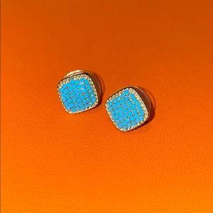 Kendra Scott turquoise stud earrings